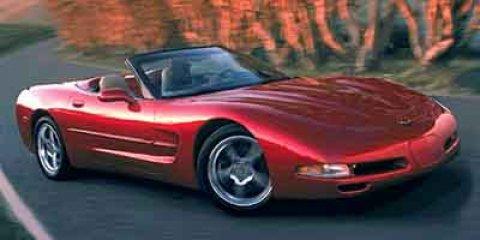 2002 Chevrolet Corvette 2dr Convertible PEWTER