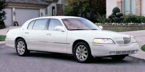 2003 Lincoln Town Car 4dr Sdn Executive WHITE CD Player Cassett