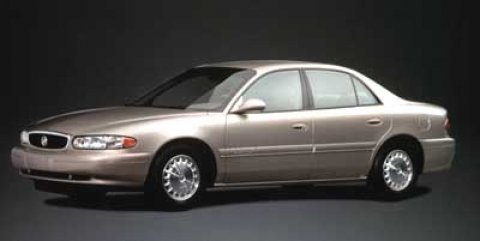 2000 Buick Century 4dr Sdn Custom BRIGHT WHITE