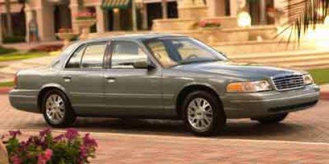 2003 Ford Crown Victoria 4dr Sdn Standard BLACK
