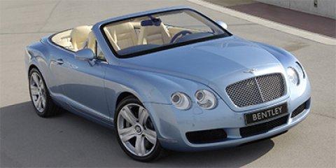 2007 Bentley Continental GT 2dr Conv LIGHT BLUE