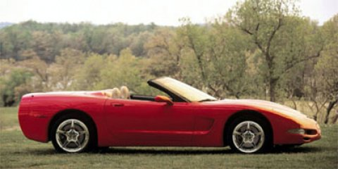 2000 Chevrolet Corvette 2dr Convertible MAGNETIC RED METALLIC