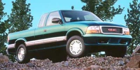 """2000 GMC Sonoma Ext Cab 123"""" WB 4WD SLS w/1SJ Pkg RED"""