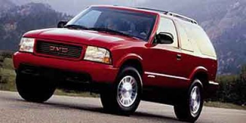 2000 GMC Jimmy RED Automatic Headlights AM/FM Stereo