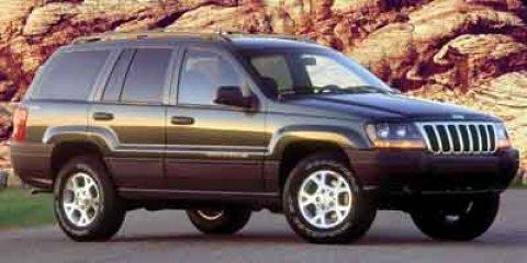 2001 Jeep Grand Cherokee 4dr Laredo BLACK Cruise Control