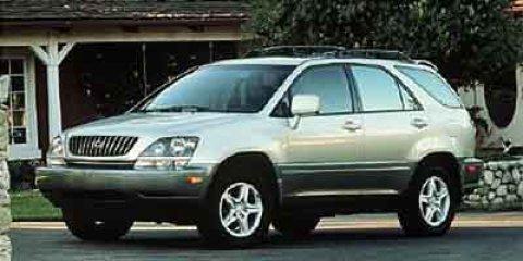 2000 Lexus RX 300 4dr SUV WHITE AM/FM Stereo AM/FM radio