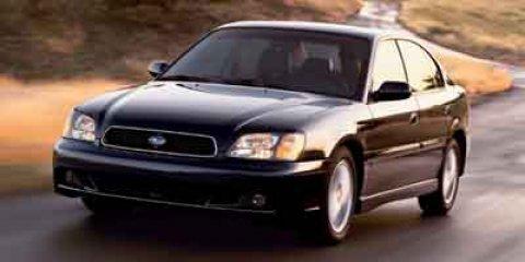 2004 Subaru Legacy Sedan BLUE AM/FM radio Aluminum Wheels