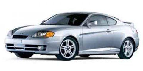 2004 Hyundai Tiburon 2dr Cpe GT V6 4-Spd Auto BLUE