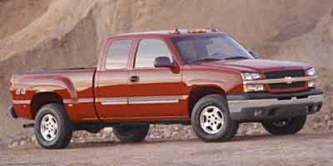 "2004 Chevrolet Silverado 1500 Ext Cab 143.5"" WB 4WD Work Truck"