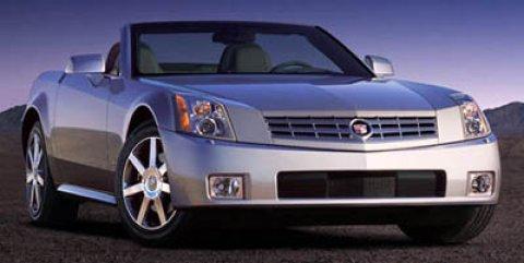 2005 Cadillac XLR 2dr Convertible LIGHT PLATINUM