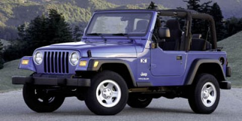 2005 Jeep Wrangler 2dr X RED Intermittent Wipers