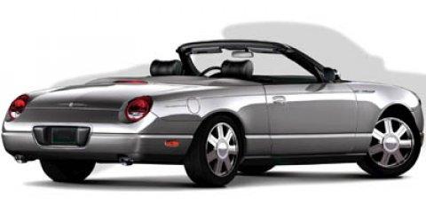 2005 Ford Thunderbird 2dr Convertible 50th Anniversary PLATINUM