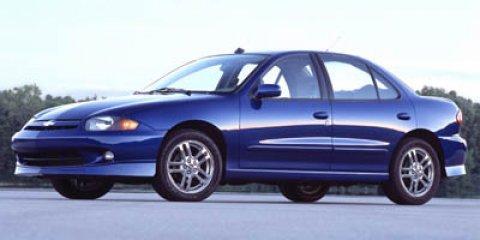2005 Chevrolet Cavalier 4dr Base Sdn BLACK