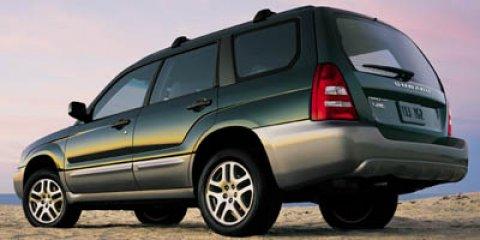 2005 Subaru Forester (Natl) 4dr 2.5 XS L.L. Bean Edition Auto
