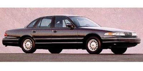 1997 Ford Crown Victoria 4dr Sdn Commercial Fleet GOLD