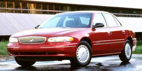 1998 Buick Century 4dr Sdn Custom Dual front impact airbags