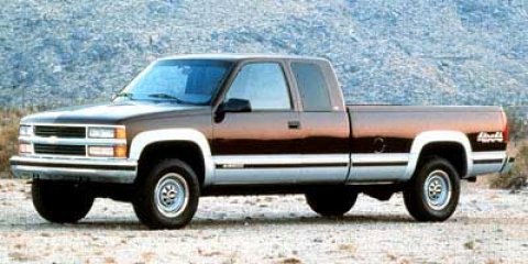 """1998 Chevrolet C/K 3500 Ext Cab 155.5"""" WB DRW VICTORY RED (MET)"""