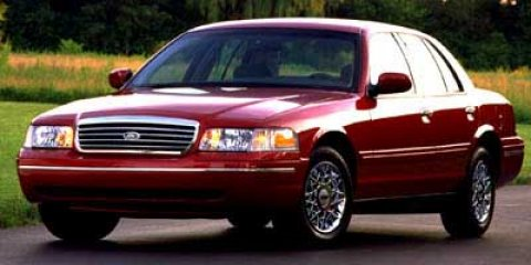 1998 Ford Crown Victoria 4dr Sdn LX Vibrant Wh