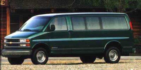 "1999 Chevrolet Express Van 1500 135"" WB MAROON"