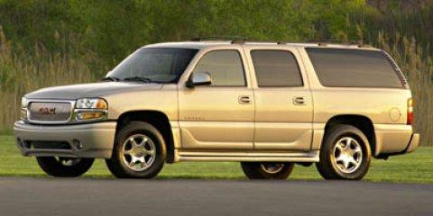 2006 GMC Yukon XL Denali 4dr 1500 AWD ONYX BLACK