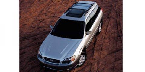 2006 Subaru Legacy Wagon Outback 2.5i Auto OBSIDIAN BLACK PEARL