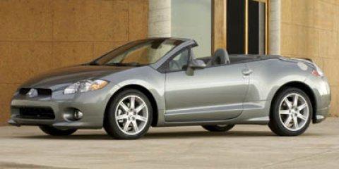 2007 Mitsubishi Eclipse 2dr Spyder Sportronic Auto GT SILVER