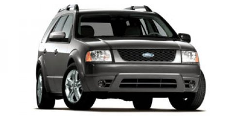 2007 Ford Freestyle 4dr Wgn Limited AWD BLACK CD Player