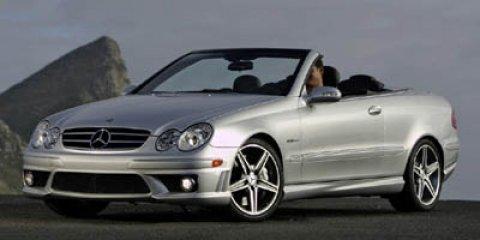 2007 Mercedes-Benz CLK-Class 2dr Cabriolet 6.3L AMG BLACK