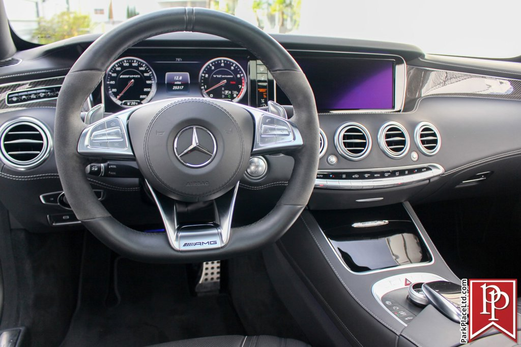 2016 Mercedes-Benz S-Class AMG S 65 Coupe