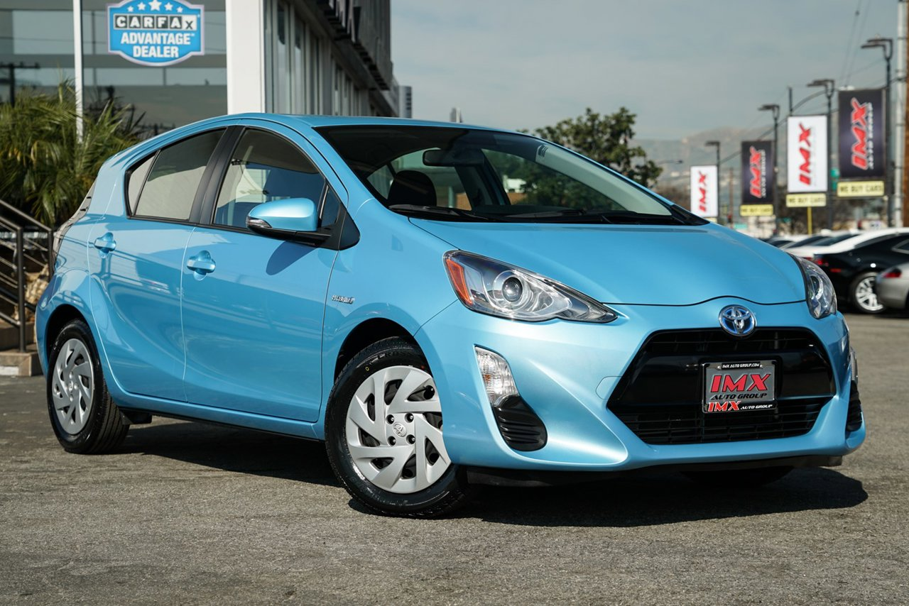 Used 2016 Toyota Prius C Two Fwd Hatchback Mileage 50431 Mi Transmission Variablestock No 130084