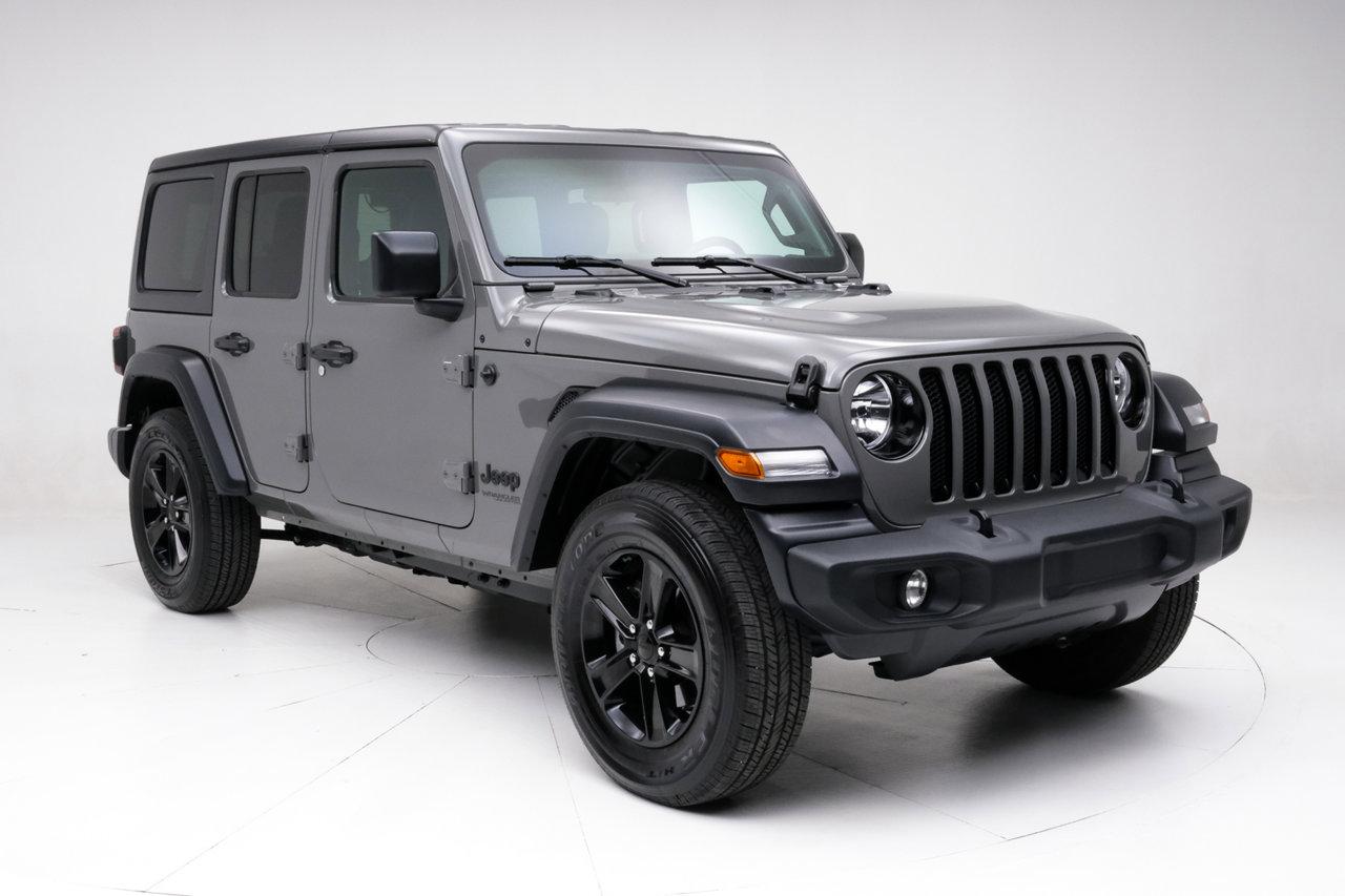 2020 Jeep Wrangler Unlimited Sport Altitude Sport Altitude 4x4 Regular Unleaded V-6 3.6 L/220 [8]