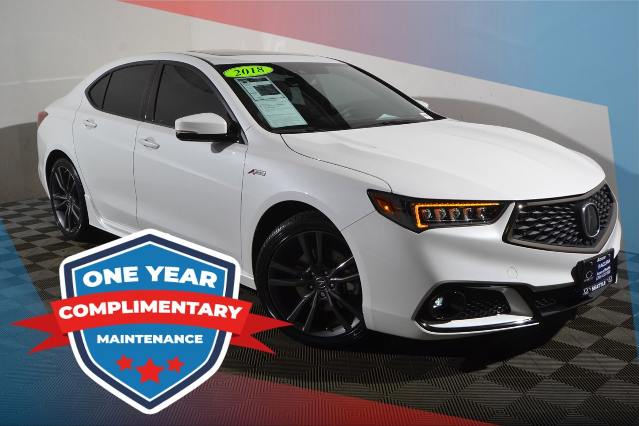 2018 Acura Tlx 3 5l V6 W Technology Package With A Spec 19uub2f66ja008667 O Brien Auto Group Or