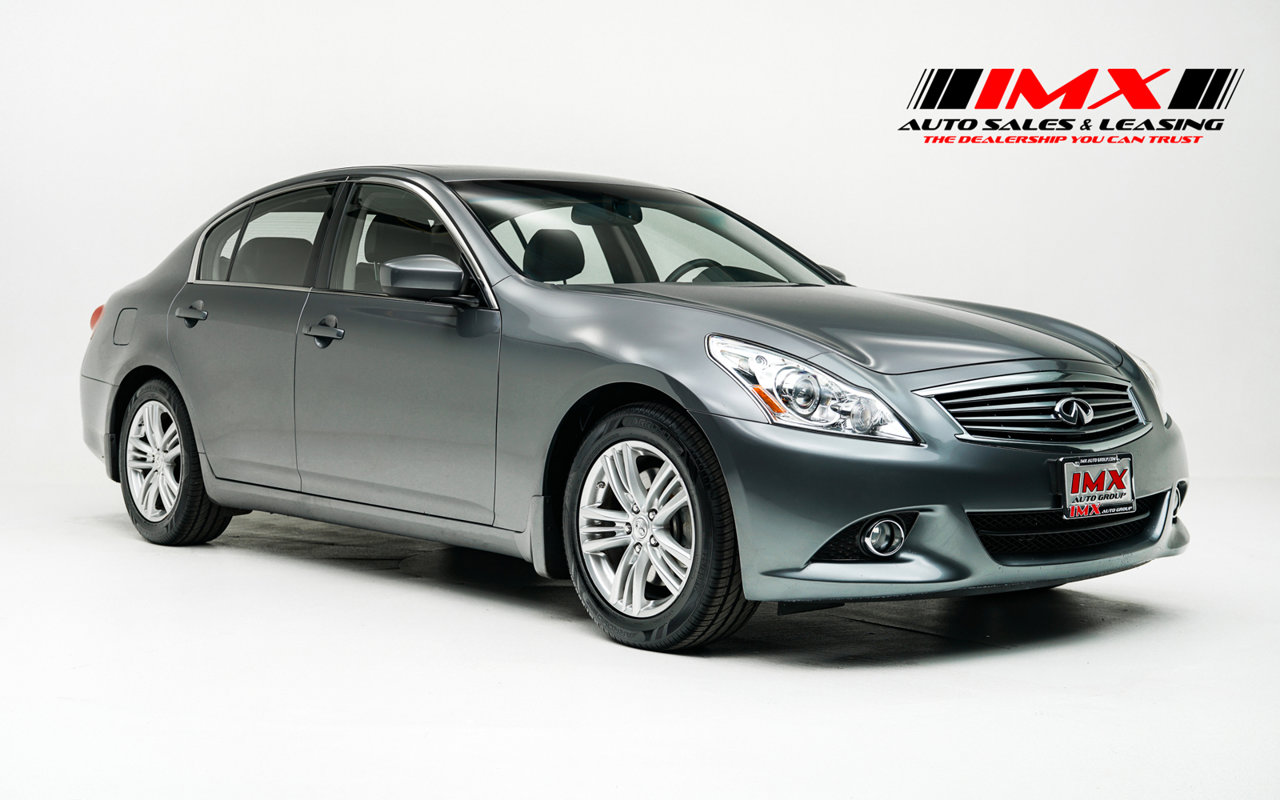 2012 INFINITI G25 Sedan Journey 4dr Journey RWD Gas V6 2.5L/152 [3]
