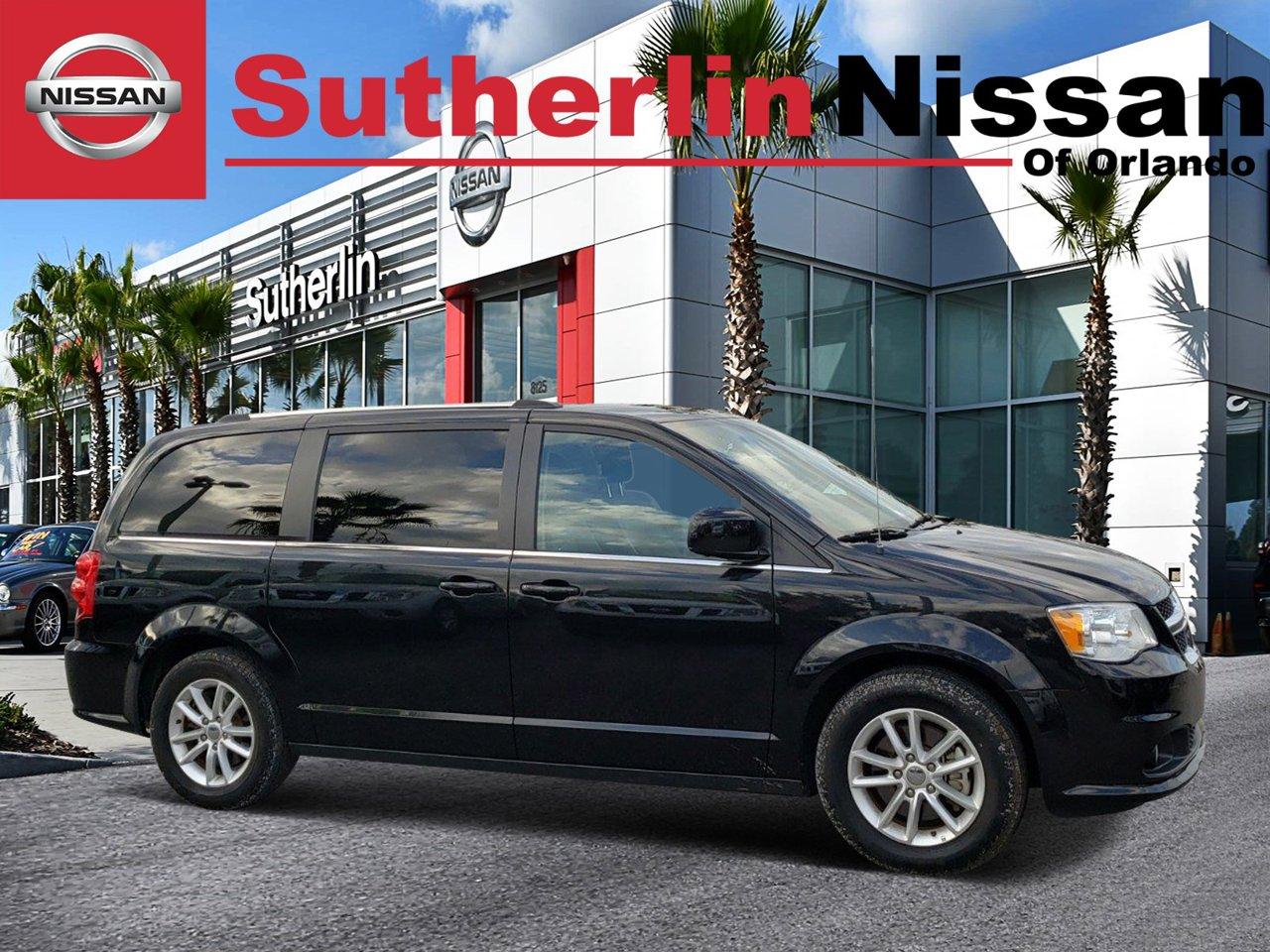 2018 Dodge Grand Caravan Sxt 2c4rdgcg4jr282356 Sutherlin Nissan Of Orlando Orlando Fl