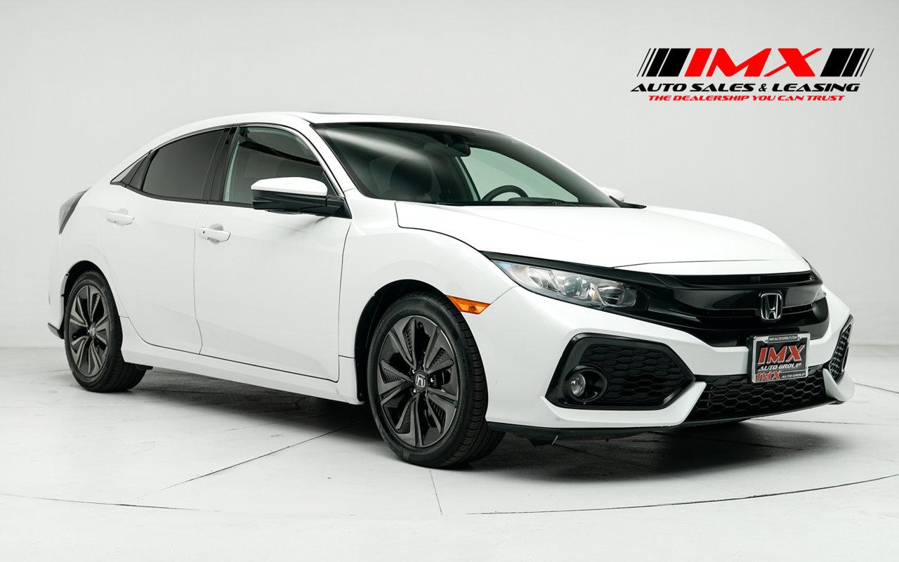 2018 Honda Civic Hatchback EX EX CVT Intercooled Turbo Regular Unleaded I-4 1.5 L/91 [0]