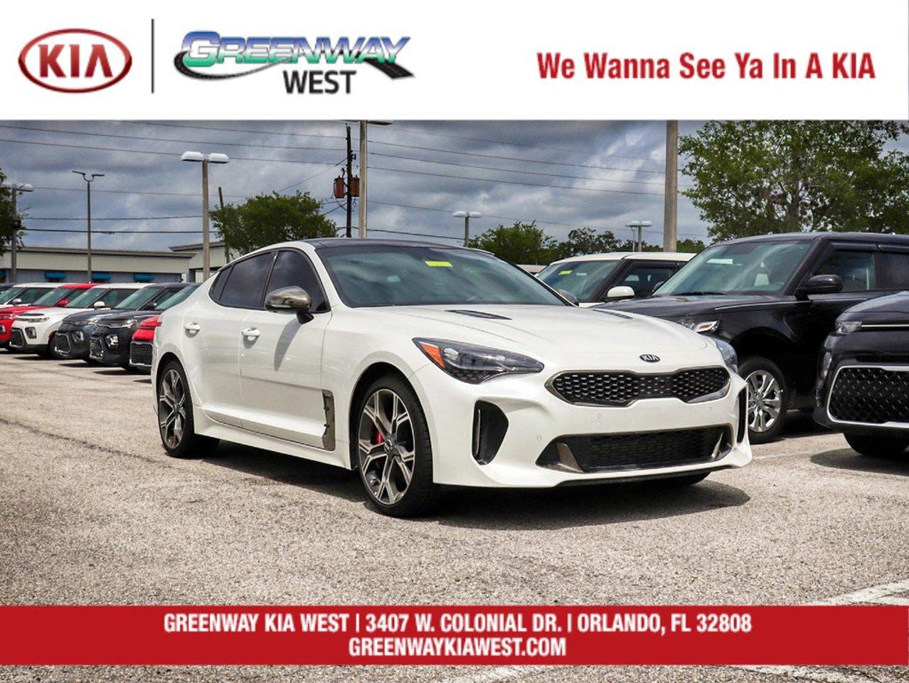2020 Kia Stinger Gt2 Knae55lc9l6077541 Greenway Automotive Orlando Fl