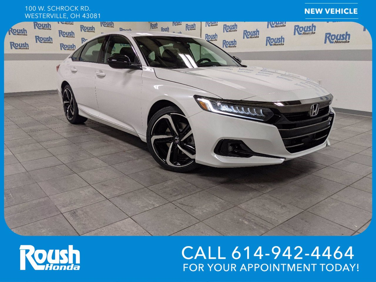 New 2021 Honda Accord Sedan in Westerville, OH