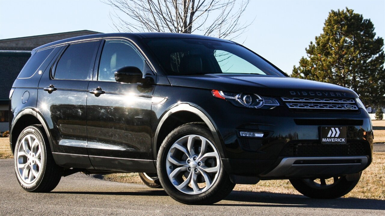 Used 2015 Land Rover Discovery Sport in Boise, IDss