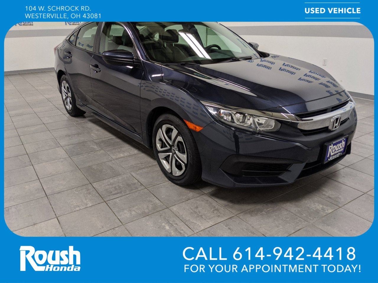 Used 2018 Honda Civic Sedan in Westerville, OH
