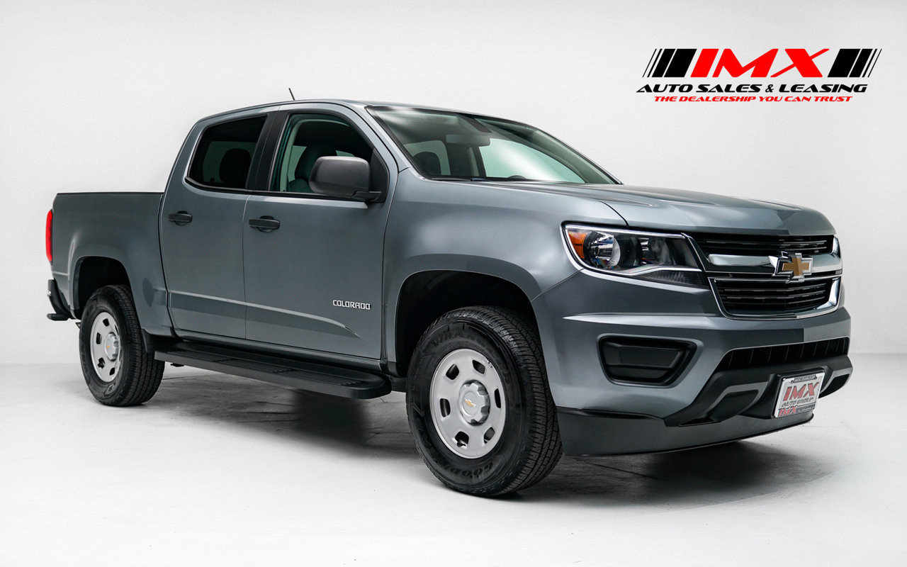 2018 Chevrolet Colorado 2WD Work Truck 2WD Crew Cab 128.3″ Work Truck Gas I4 2.5L/150 [0]