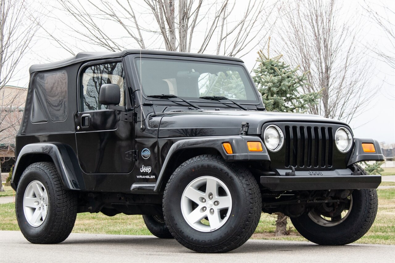 Used 2005 Jeep Wrangler in Boise, IDss