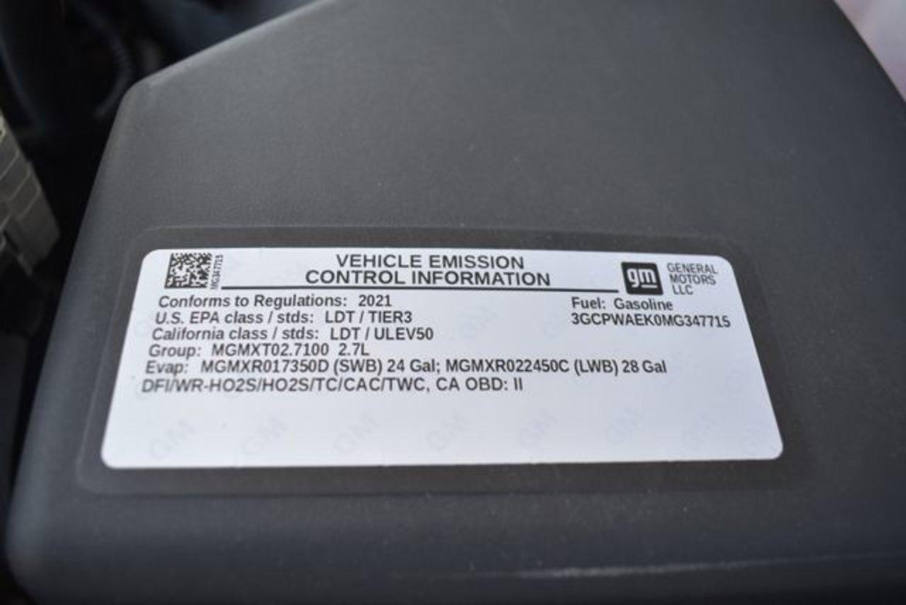 Used 2021 Chevrolet Silverado 1500 in Ventura, CA