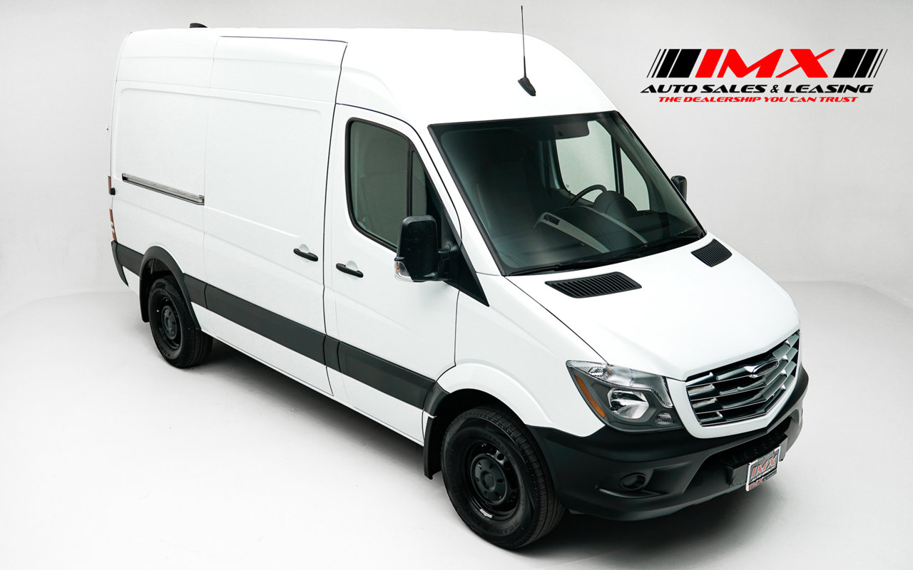 2018 Mercedes-Benz Sprinter Cargo Van 2500 Standard Roof V6 144″ RWD Intercooled Turbo Diesel V-6 3.0 L/182 [0]