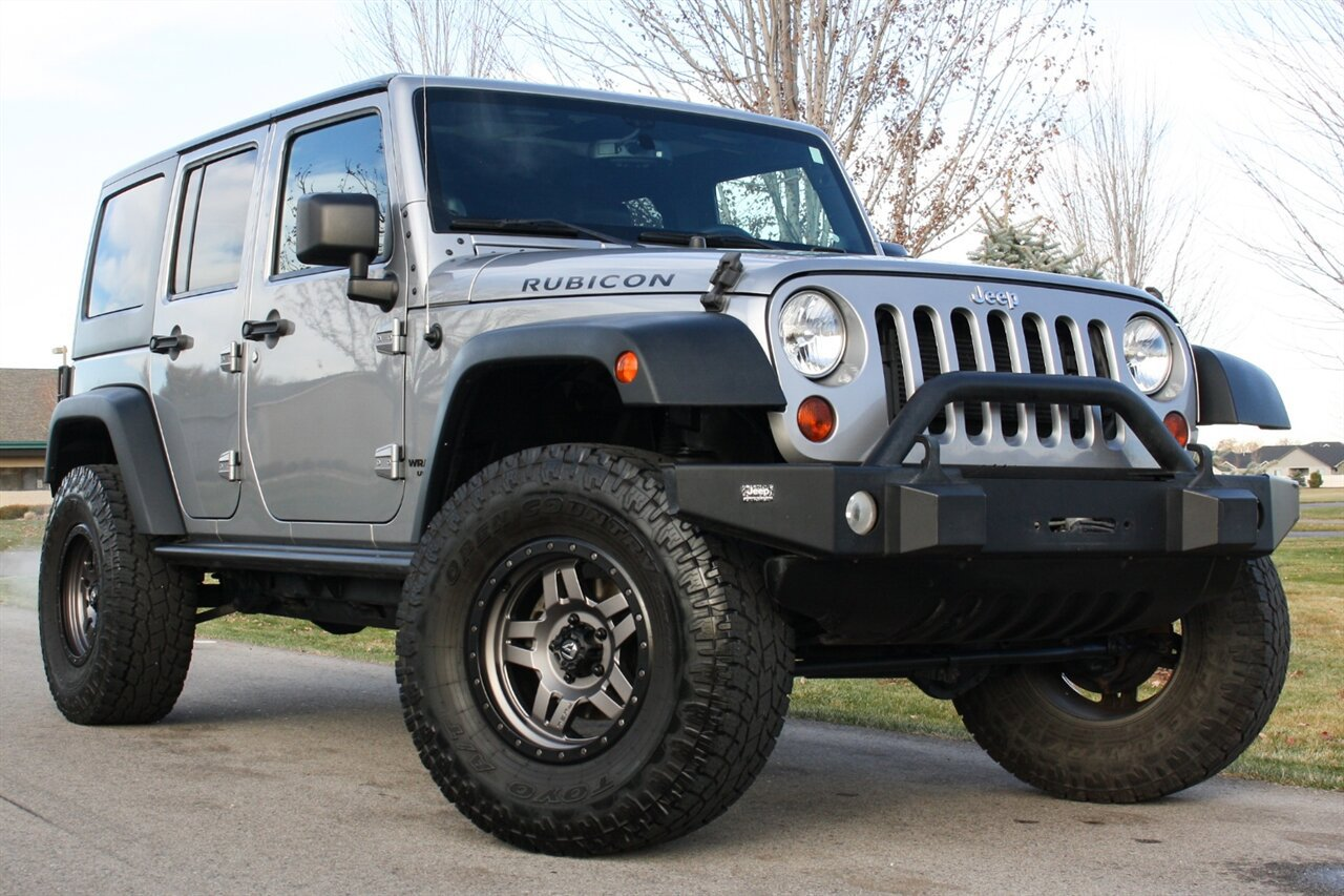 Used 2013 Jeep Wrangler Unlimited in Boise, IDss
