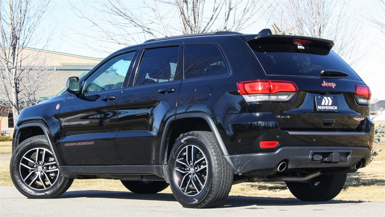 Used 2017 Jeep Grand Cherokee in Boise, IDss