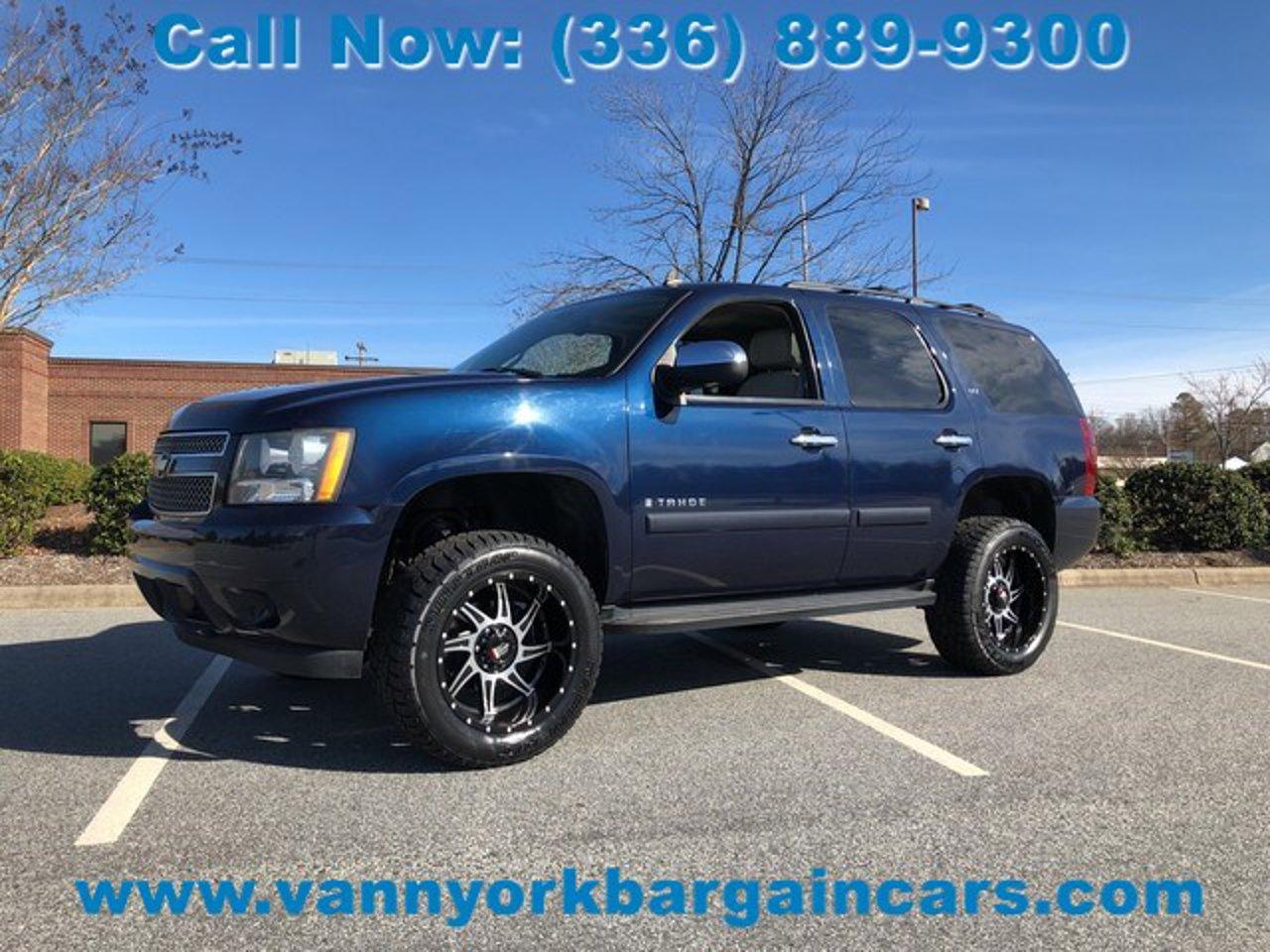 2008 Chevrolet Tahoe Ltz 1gnfk13058r155342 Vann York Bargain Cars High Point Nc