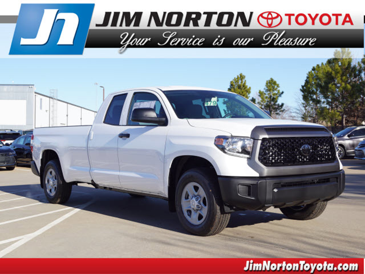 2020 Toyota Tundra SR 2WD Double Cab Long Bed 8.1' Bed 5.7L