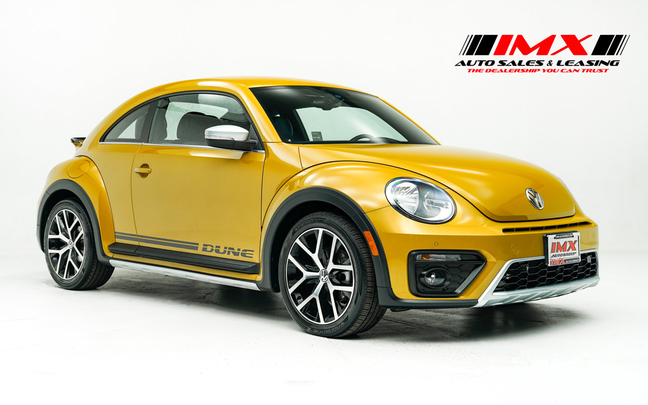 2016 Volkswagen Beetle Coupe 1.8T Dune 2dr Auto 1.8T Dune PZEV Intercooled Turbo Regular Unleaded I-4 1.8 L/110 [0]