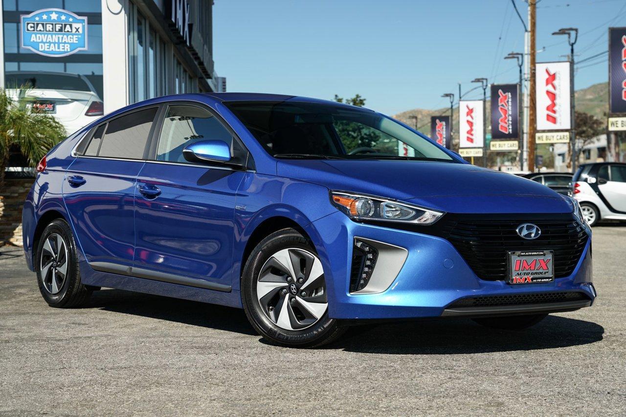 Used 2017 Hyundai Ioniq Hybrid Sel Fwd Hatchback