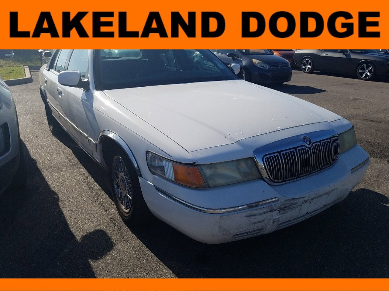 New Front Passenger Or Driver Side Bumper Trim For Mercury Grand Marquis